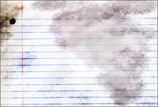 Writing paper texture