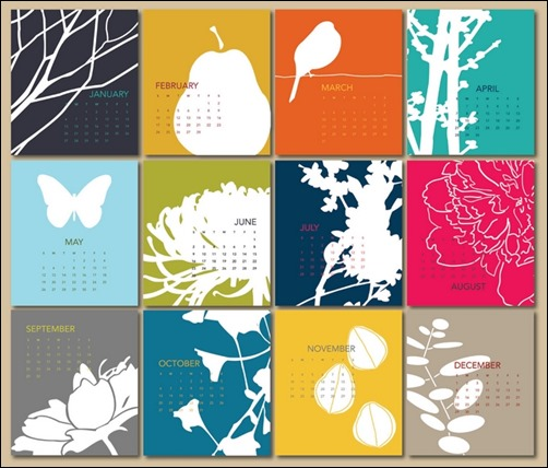 Creative Calendar Themes : Cool and unique calendar designs creative